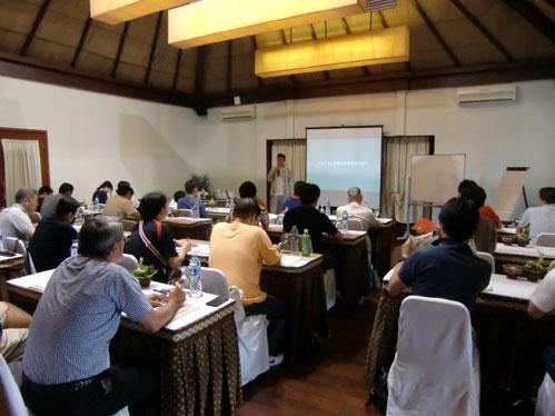 バリ島での講習会