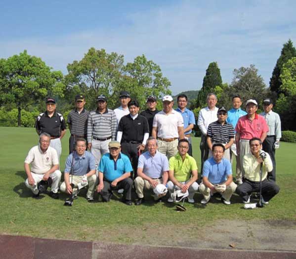 ゴルフコンペ・懇親会 会員相互の親睦