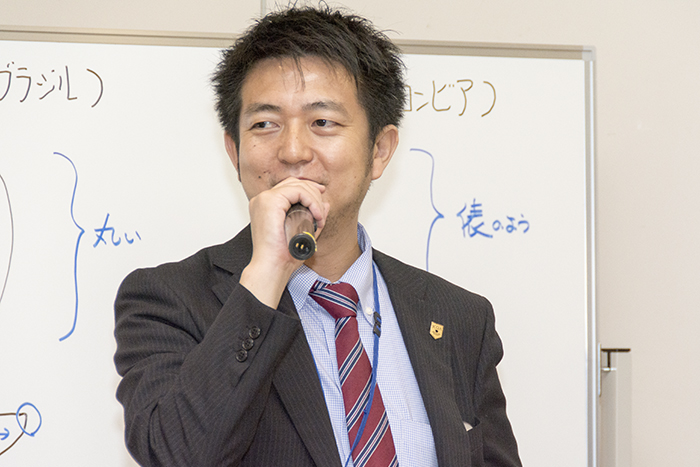 司会進行の石光商事の石崎昇氏