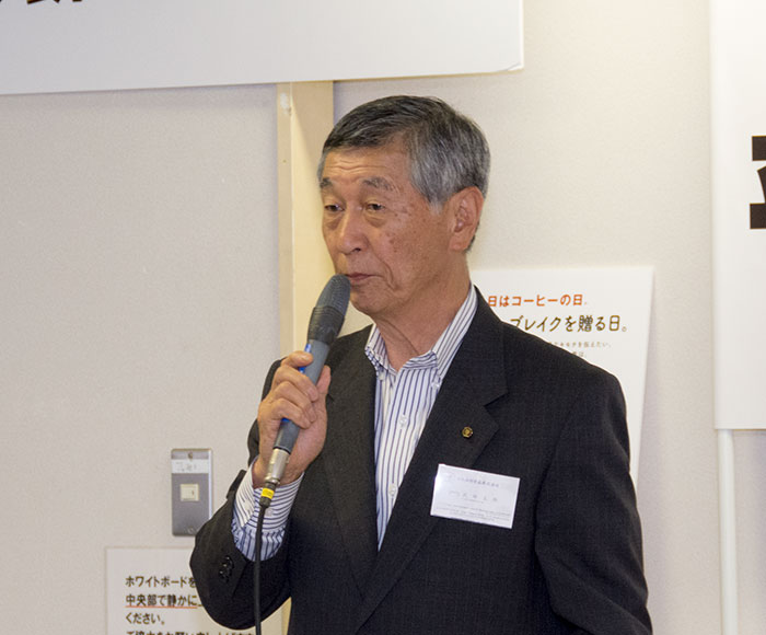 日本グリーンコーヒー協会 会長 武田太郎 様