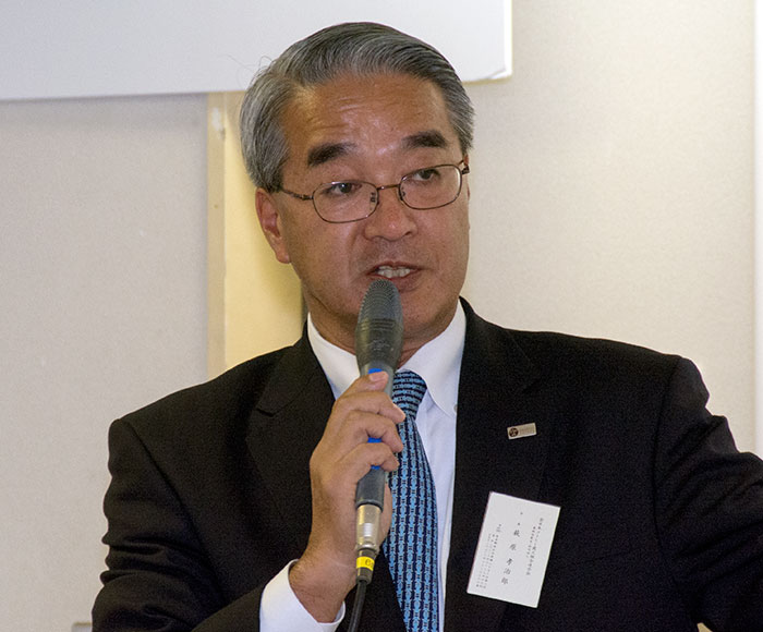 全日本コーヒー商工組合連合会 代表理事会長 萩原孝治郎 様