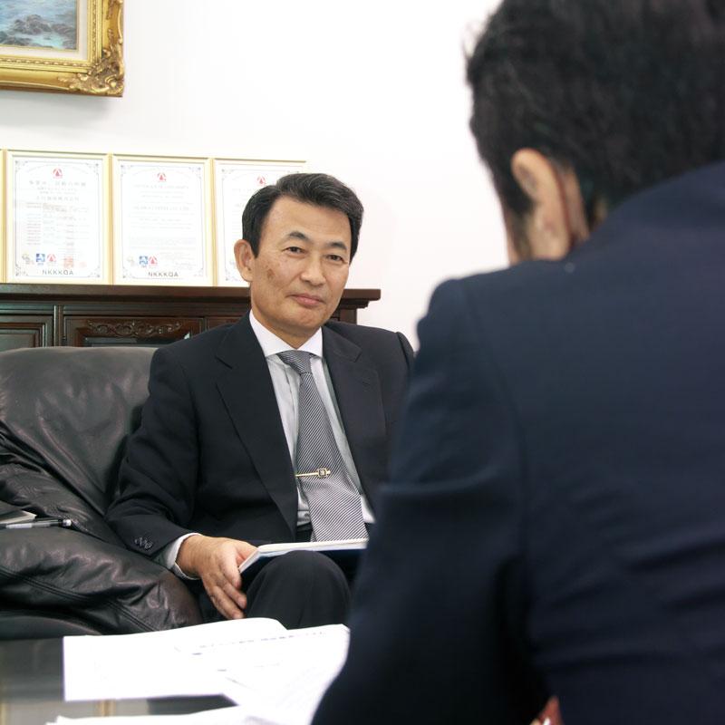 小川珈琲株式会社 現 取締役 沖永 憲生 氏