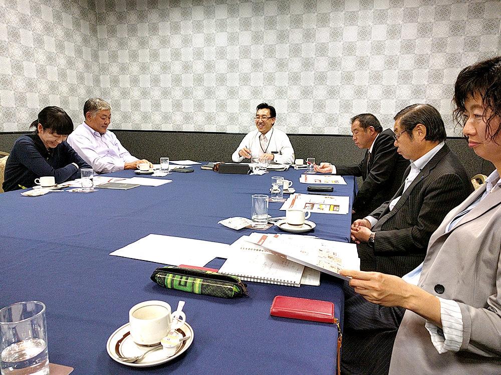 第1回委員会 企画検討会議の模様