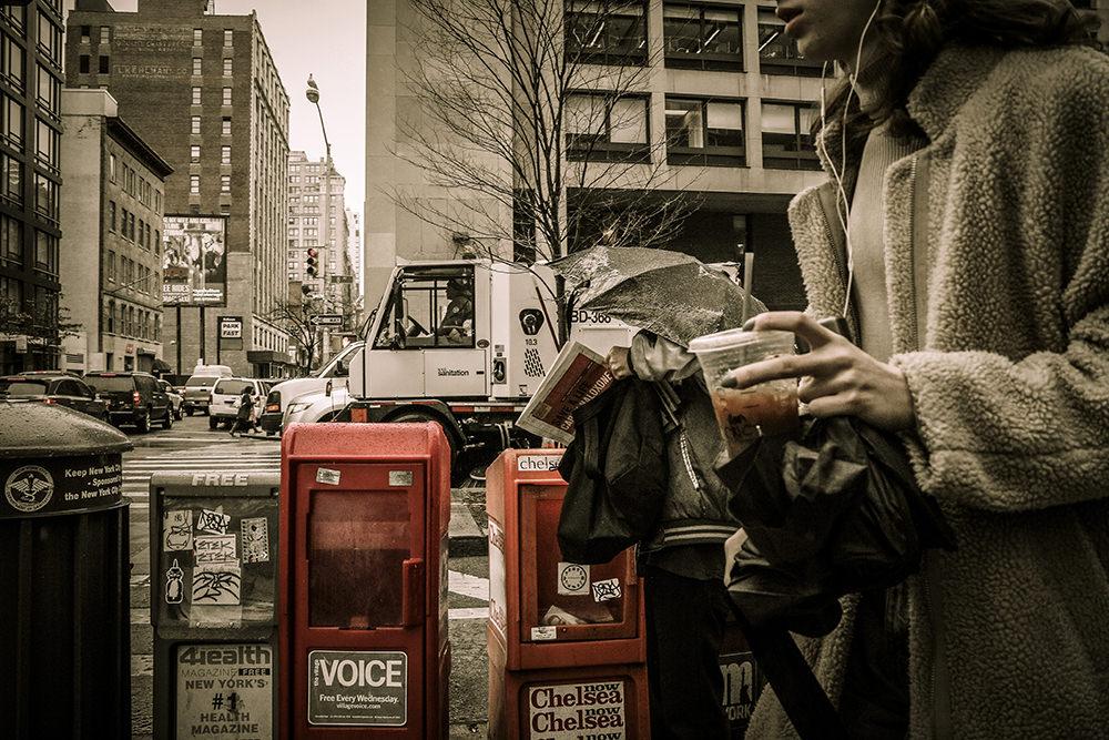 「旅先でwith Coffee」 京都府 奥田 菜々子様『NYの街角で』