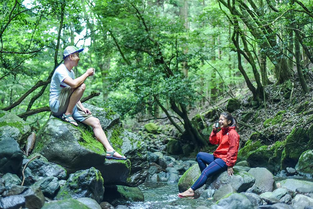 「インスタグラムでwith Coffee(シルバー)」 静岡県 稲葉 拓也様『沢遊び、おとなの夏休み。』